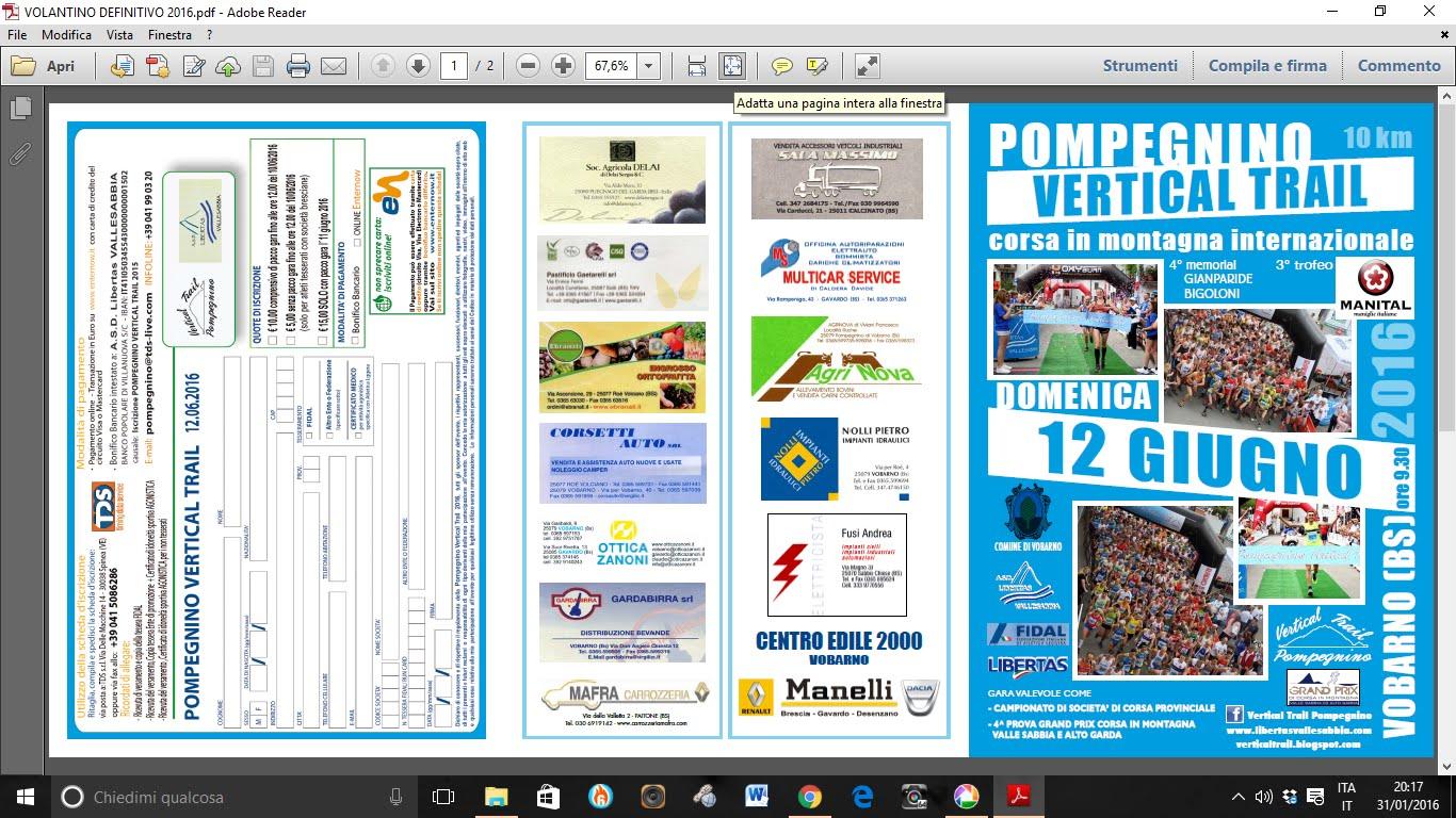 VOLANTINO PDF  DA SCARICARE