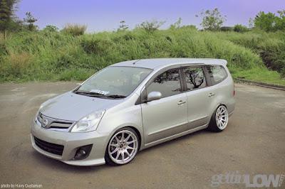 Nissan Grand Livina Putih Ceper Terbaru