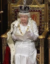 Queen reading