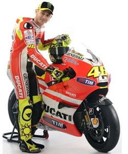 New Rossi's Ducati MotoGP