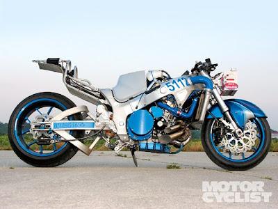 Moto Naked Hayabusa