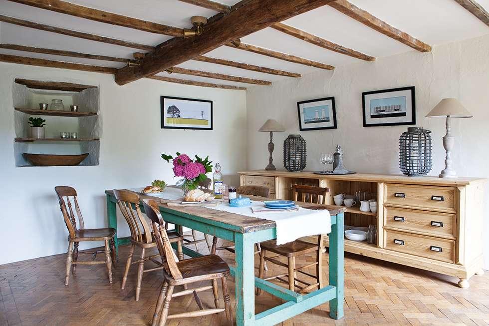 Interior casa de campo llena de hallazgos vintage for Casas de campo interiores