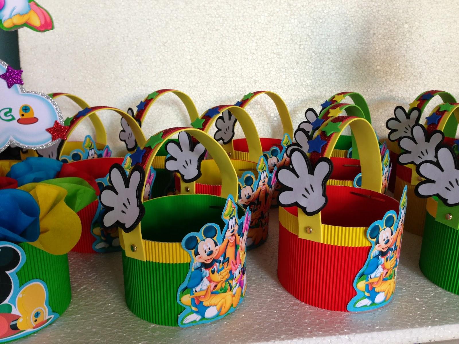 Decoraciones infantiles la casa de mickey mouse - Decoracion para cumpleanos infantiles en casa ...