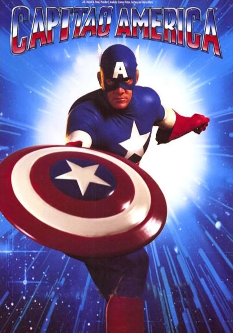 Capitão América: O Filme – Dublado (1990)
