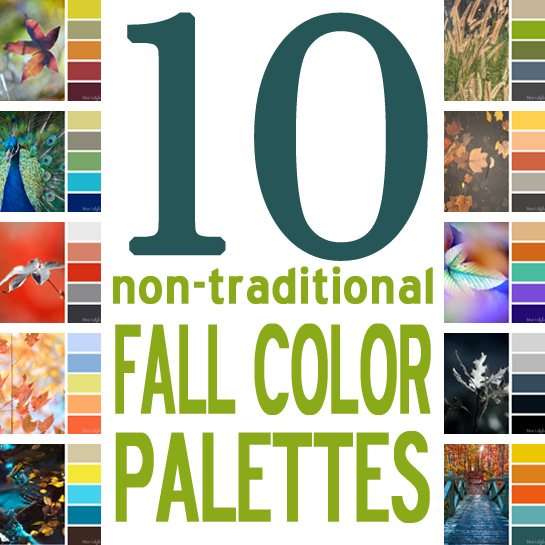 seasonal style 10 non traditional fall color palettes for every