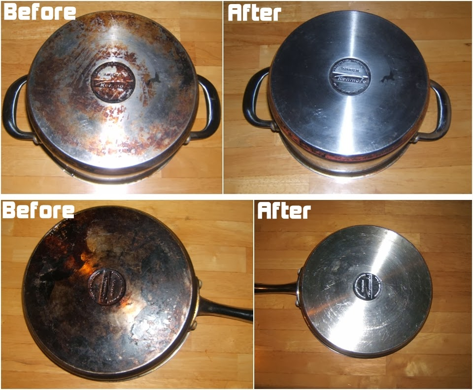 How To Clean Burnt Pots Scorched Pans Diy Craft Projects