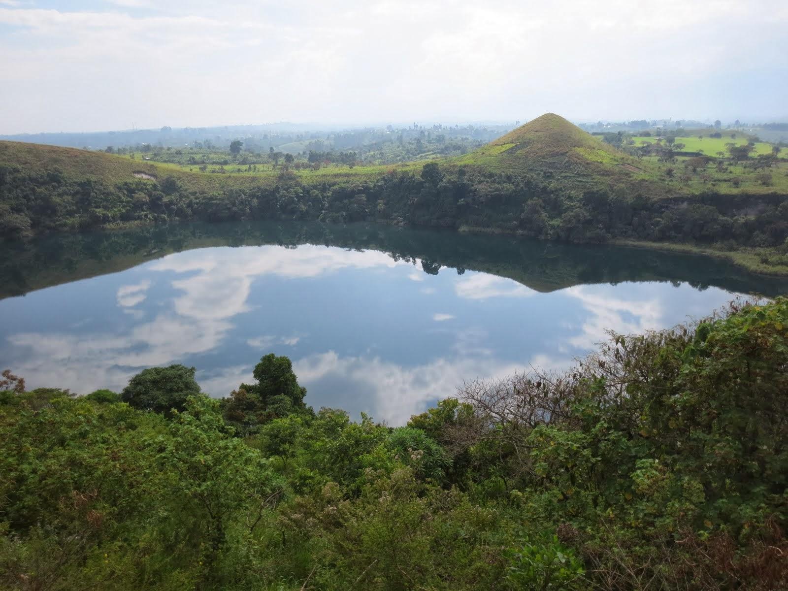 Crater Lake in Ft. Portal, Uganda