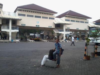 Terminal Giwangan Jogjakarta