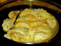 Chinese steamed dumpling with egg pastry recipe