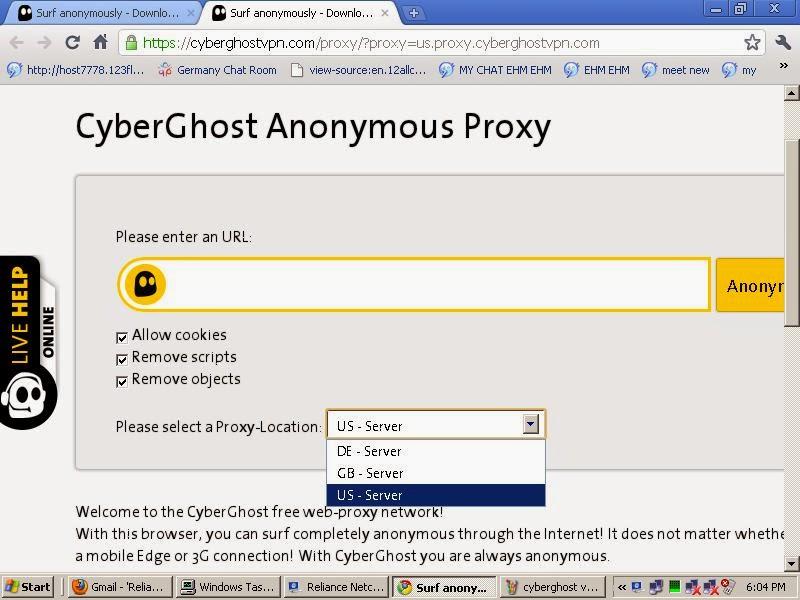 Cyberghost Online VPN