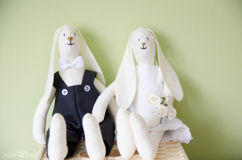 króliki ślubne