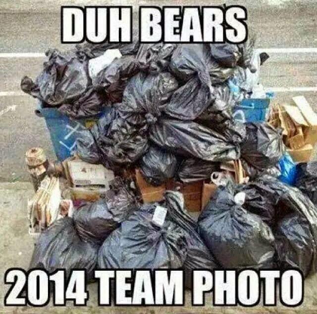 duh bears. 2014 team photo