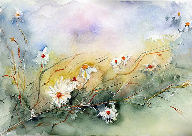 Flores de agua y viento