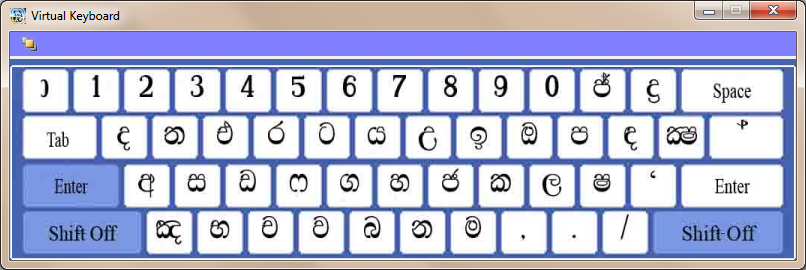 Sinhala Language 2011 For Sinhala