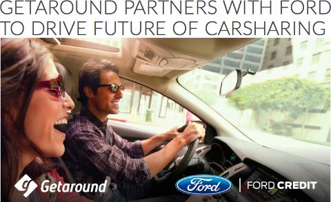 Partenariat Getaround - Ford