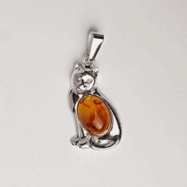 Amber Jewelry Cat