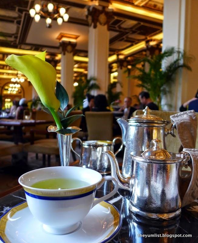 Afternoon Tea, Lobby Lounge, The Peninsula, Hong Kong