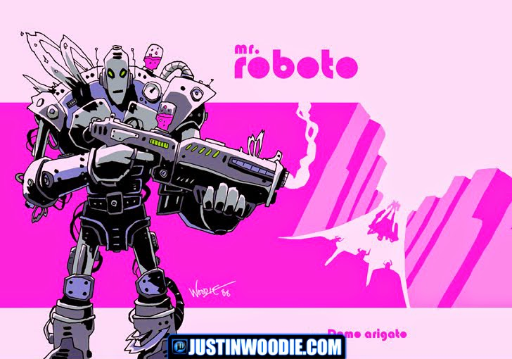 Roboto Illustration