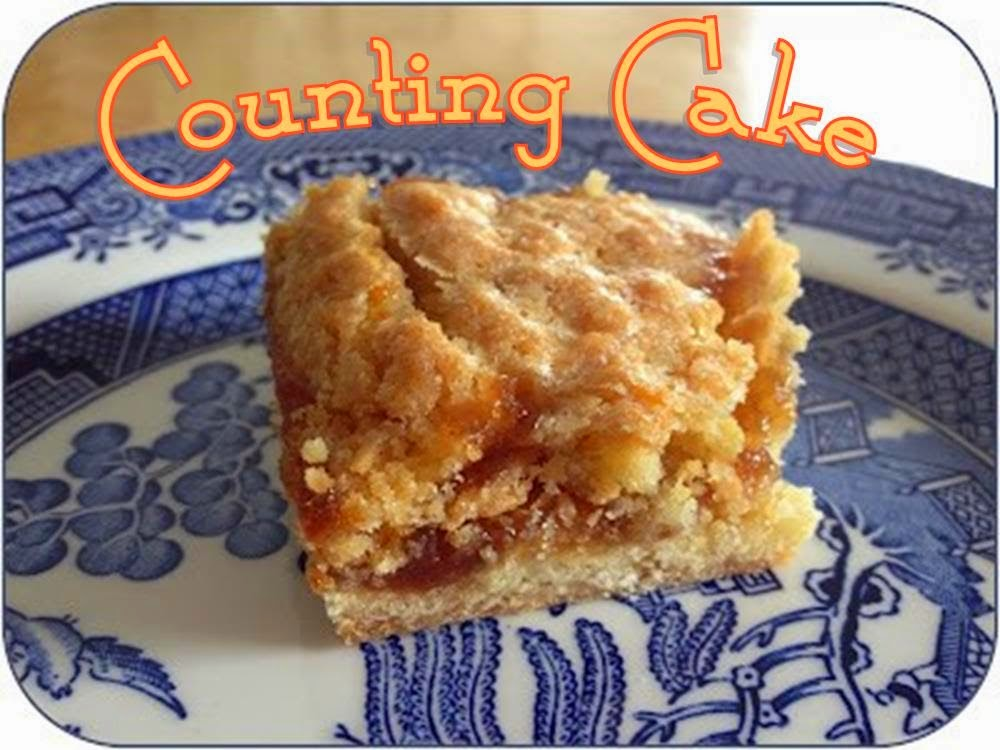 Counting cake #dessert #bars #cake