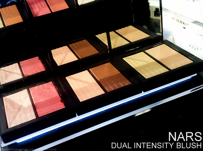NARS Dual-Intensity Blush Swatches Craving Adoration Frenzy Panic Jubilation Fervor