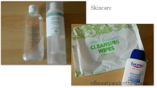 June Empties 2012: Skin Care