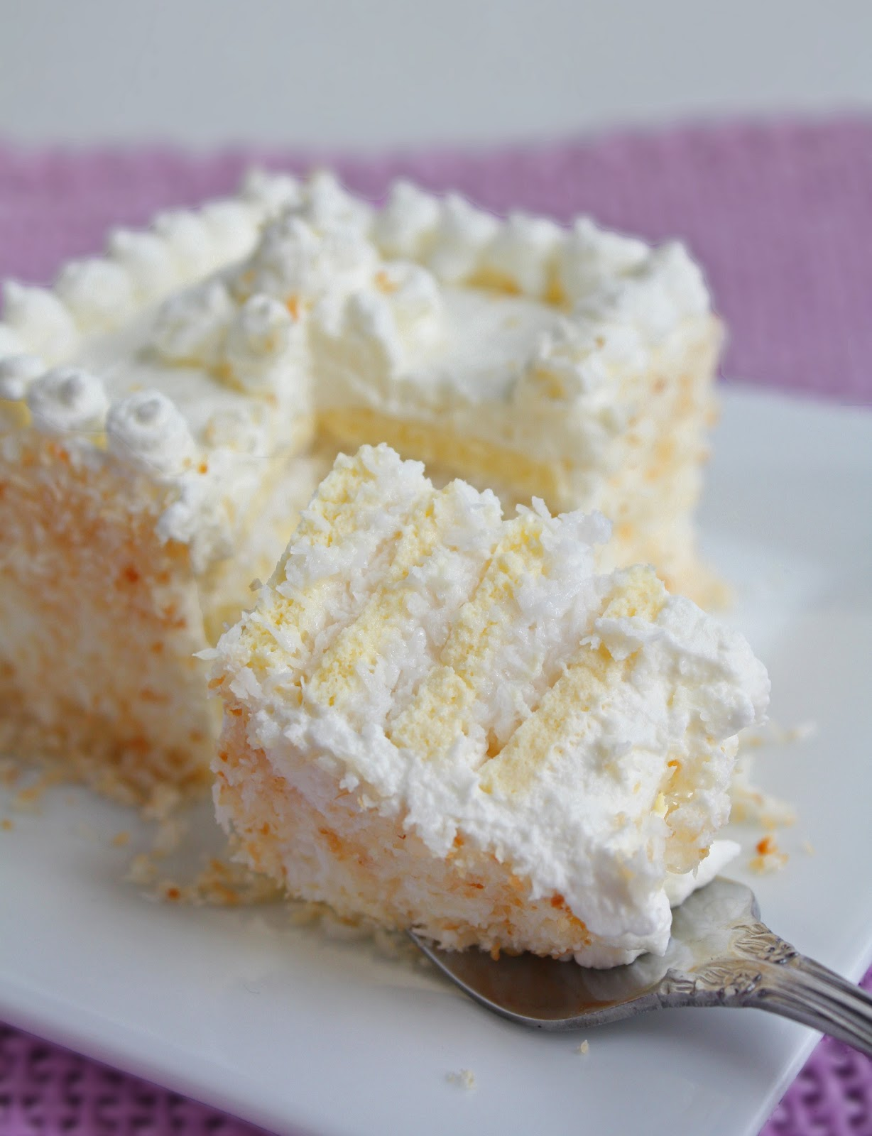 Coconut Frenzy Cake Low Carb And Gluten Free I Breathe Im Hungry