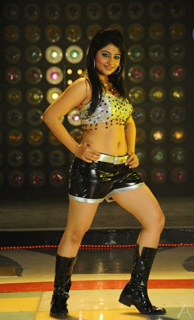 hot item song actress navel photos