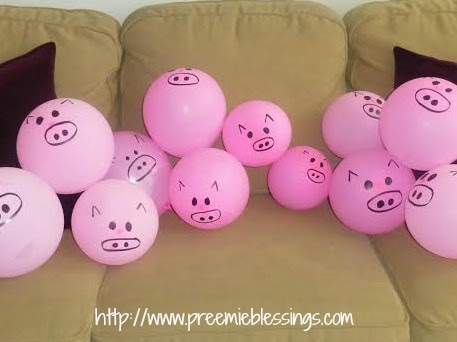 preemie blessings five farm party favorites for toddlers
