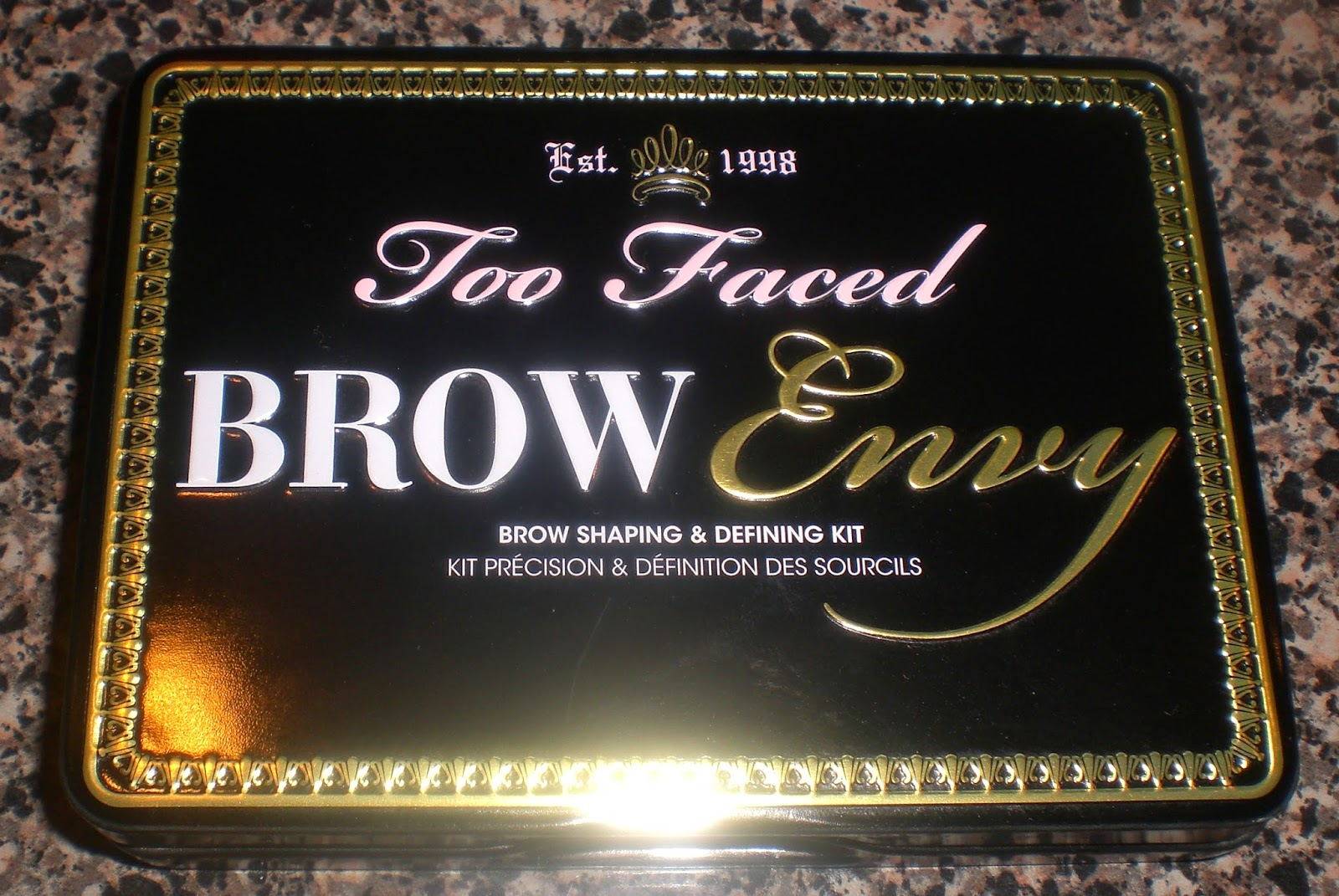 Cotton Candy Fro Too Faced Brow Envy Eyebrow Kit