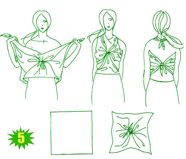 Блузка Из Треугольника