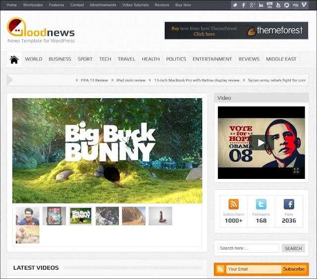 Download FrGoodnews v5.6.6 – Responsive WordPress News/Magazine Theme