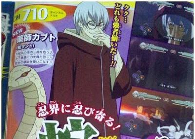 Kabutomaru confirmado no Naruto Ultimate Ninja Storm Generetions
