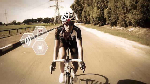 Smart Bike Helmet Lazer Genesis Life Beam
