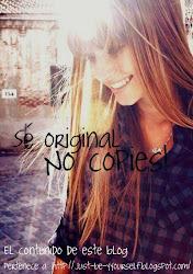 Sé original :)