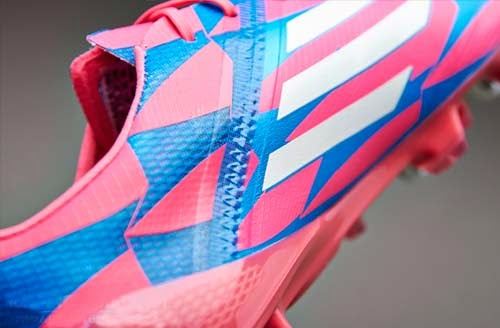 Adidas F50 adizero SG Football Boots with Pink Color