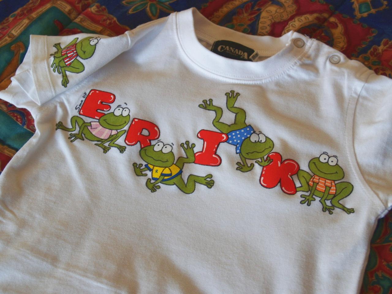 La calle de la abuela las camisetas son para el verano - Pinturas para pintar camisetas ...