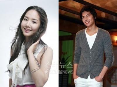 Foto Lee Min Ho dan Park Min Young Berpacaran