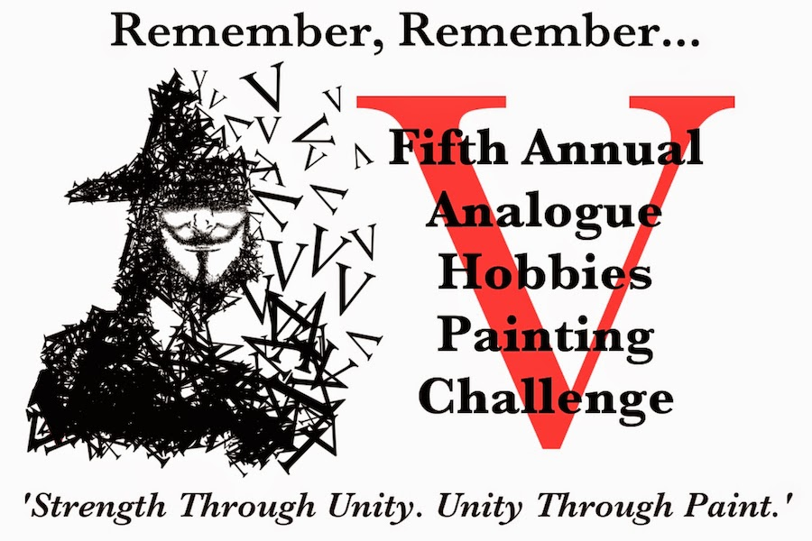 Vth Analogue Painting Challenge