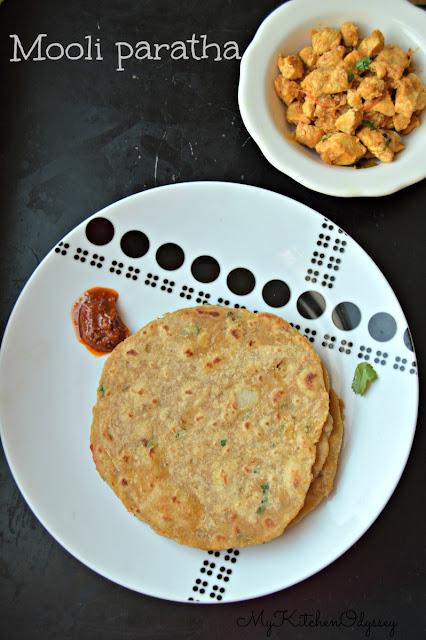 mooli paratha recipe14