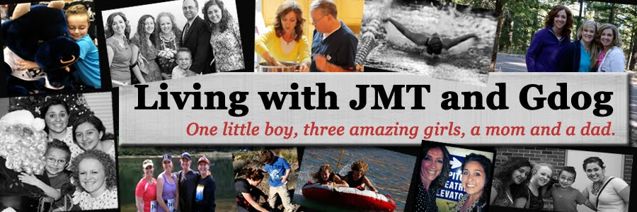 Living with JMT and G-dog
