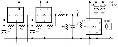Car Horn circuit schematic with explanation