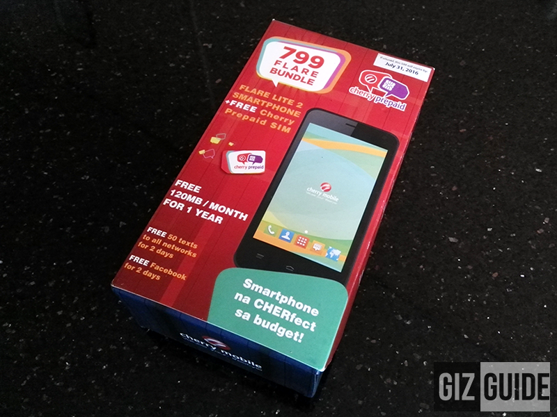 Cherry Prepaid 799 Flare Bundle Now Official!