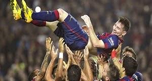 Sevilla 1 x 5 Barcelona: Veja os 3 gols de Lionel Messi