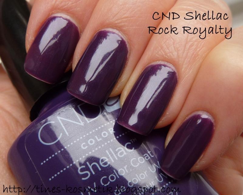Tines Kosmetikblog: CND Shellac Rock Royalty
