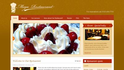 Restaurant Joomla Premium themes