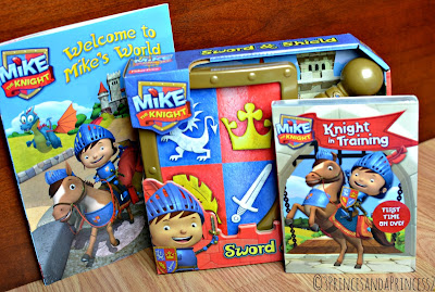 Giveaway for Mike the Knight book, toy and DVD