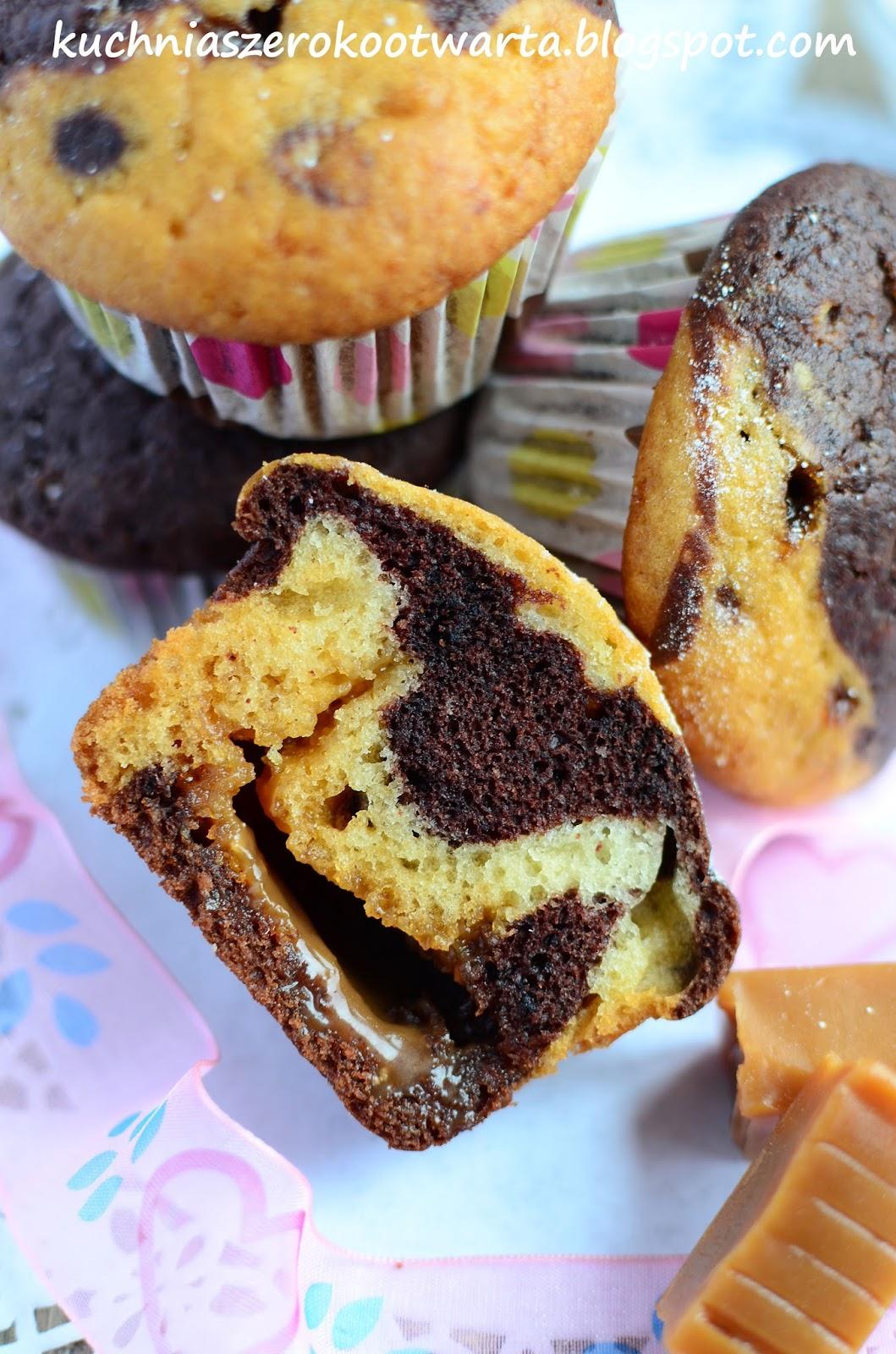 Kuchnia Szeroko Otwarta Laciate Muffinki Z Krowkami