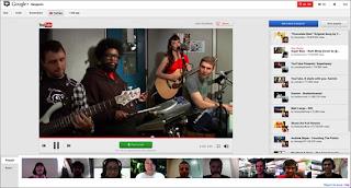 Youtube in Google+ Ritrovi