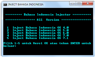 injector bahasa indonesia