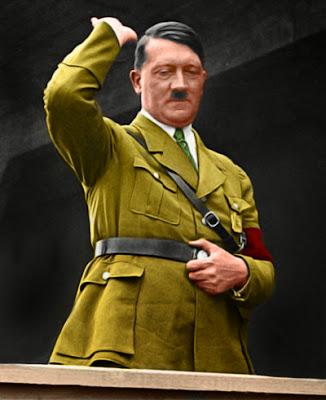 """ESPEJO DE ARCADIA: ADOLF HITLER 55 (color): """"Siempre he ... Hitler Soy Yo"""